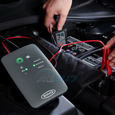 Ring RSC706 12v 6A 8 Stage Start/Stop Car 4x4 Maintenance Smart Battery Charger 3