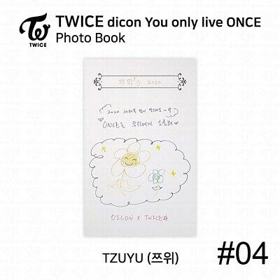 TWICE x dicon You Only Live ONCE Card Photo Book Postcard Tzuyu KPOP K-POP 7