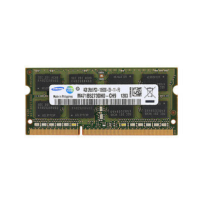 New 4gb Pc3 10600s Ddr3 Sdram 1333mhz 204pin Cl9 So Dimm Memory For