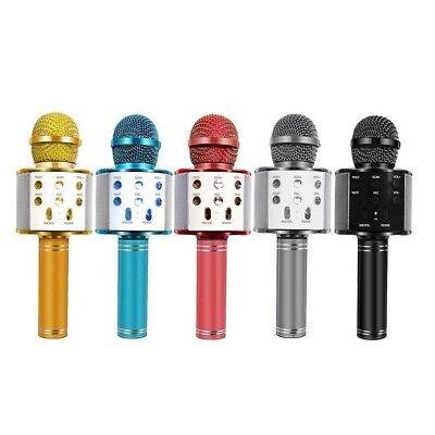 Microfono Wireless Con Altoparlante Cassa Integrata Bluetooth Portatile Karaoke. 5