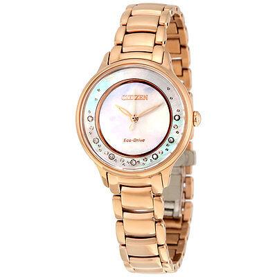 Citizen Women's Eco-Drive EM0382-86D Circle of Time Diamond Accents 30mm Watch 2