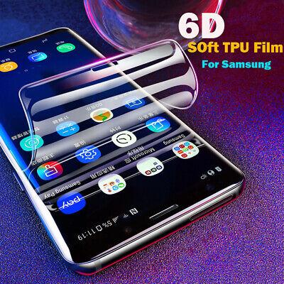 2x 3D Panzer Folie Samsung Galaxy S10 / Plus / Edge Display Schutzfolie TPU Klar 12