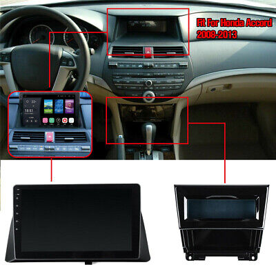 For 08-13 Honda Accord 10.1'' Android 9.1 GPS Navigation Stereo Radio WiFi 2+32G 11