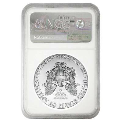 2001 1 oz American Silver Eagle Coin NGC MS69 .999 Pure Brilliant Uncirculated 2