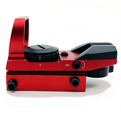Red Dot Sight Reflex Holographic Scope Tactical Optics Mount 20mm Rails - USA 2