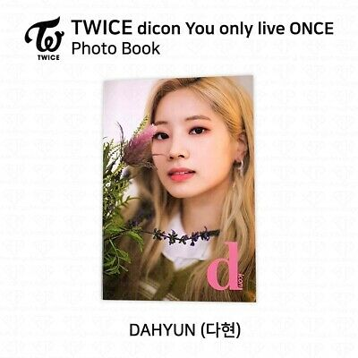 TWICE x dicon You Only Live ONCE Card Photo Book Postcard Dahyun KPOP K-POP 2