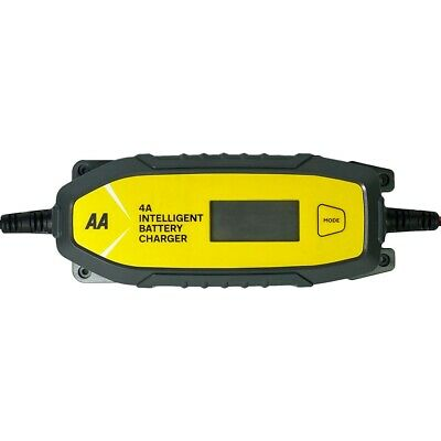 AA Official 4A Car Intelligent Battery Charger LCD Display Essentials Maintainer 2