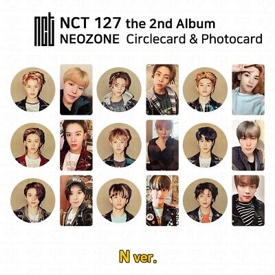 NCT127 2nd Album NCT #127 NEO ZONE Official Photocard Circle card KPOP K-POP 2