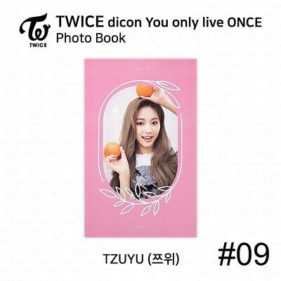 TWICE x dicon You Only Live ONCE Card Photo Book Postcard Tzuyu KPOP K-POP 12