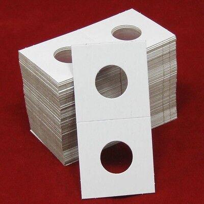 100 Cardboard 2x2 Coin Holder Mylar Flips for Nickels 2
