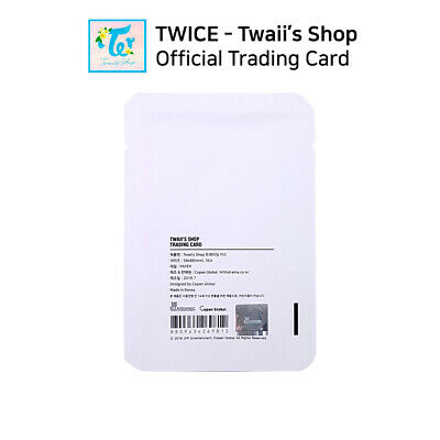 TWICE - POP UP STORE Twaii's Shop Official Trading Card Photocard 3