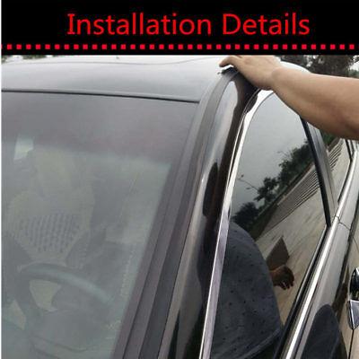 Sound proof Edge Weatherstrip Car Windshield Sunroof 30ft Seal Strip Waterproof