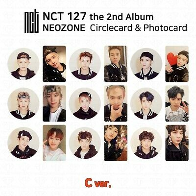 NCT127 2nd Album NCT #127 NEO ZONE Official Photocard Circle card KPOP K-POP 5