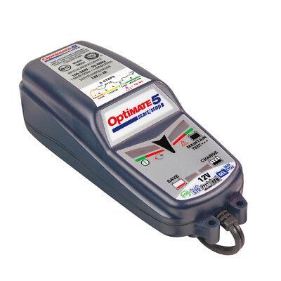 Chargeur Optimate 5 12V 4A pour batterie voiture 12v de 15 à 192ah