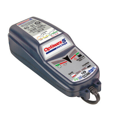 Chargeur Optimate 5 start and stop 12v 4A TM-220 pour batterie de 15 à 192ah