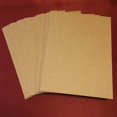 """Chipboard 50pt  Xtra Thick Rigid! 8.5x11"""" sheets 20,40,50,60,80 or 100 qty 0.050 2"""