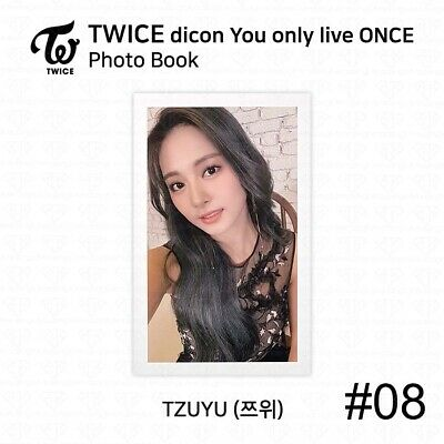 TWICE x dicon You Only Live ONCE Card Photo Book Postcard Tzuyu KPOP K-POP 11