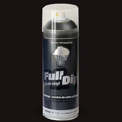 Vinilo Liquido Fulldip Negro Mate En Spray Llantas Coche Interior Carroceria 2