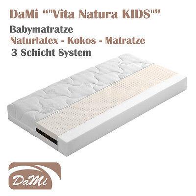 "NATURLATEX KOKOS Matratze ""DaMi Vita Natura KIDS"" Babymatratze"