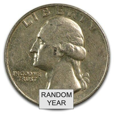 90% Silver Coins - $10 Face-Value Roll (Denomination Varies) - SKU #16485