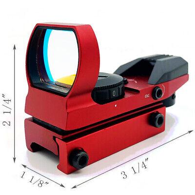 Red Dot Sight Reflex Holographic Scope Tactical Optics Mount 20mm Rails - USA 7