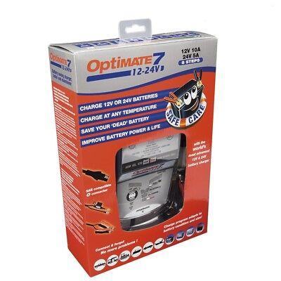 Chargeur batterie Optimate 7 12/24V Pour toutes batterie STD AGM et GEL 2