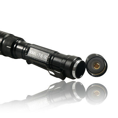 Tactical Police 990000Lumen T6 5Modes LED Flashlight Aluminum Torch Zoomable USA 10