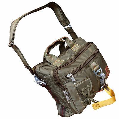 57e05cd823957 Sporttaschen   Rucksäcke PURE TRASH Handtasche mit Karabiner-Haken Groß  Tragetasche Notebooktasche