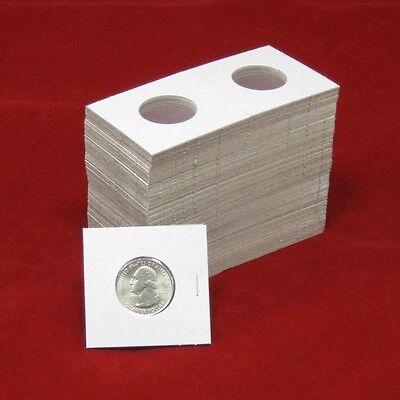 100 Cardboard 2x2 Coin Holder Mylar Flips for Quarters 3