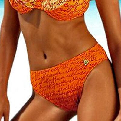 Marken Bügel Bikini Beachwear 36 D-Cup Druck Design Metall Verschluss