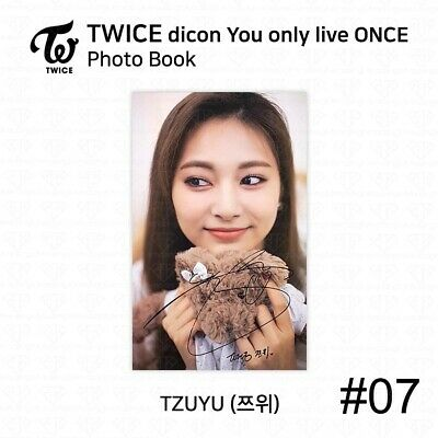 TWICE x dicon You Only Live ONCE Card Photo Book Postcard Tzuyu KPOP K-POP 10