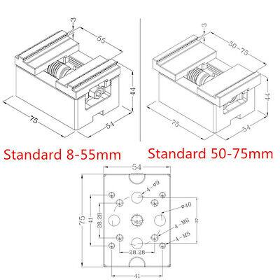 1X Wire EDM EROWA 3R CNC Self-centering Vise Electrode Fixture Machining Jaw 6