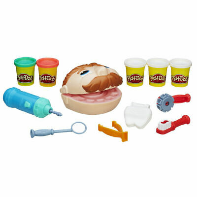 Play-Doh Doctor Drill n Fill Play Set - Dr / Dentist Play Dough Playset - NEW 2