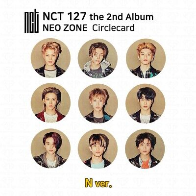 NCT127 2nd Album NCT #127 NEO ZONE Official Photocard Circle card KPOP K-POP 3