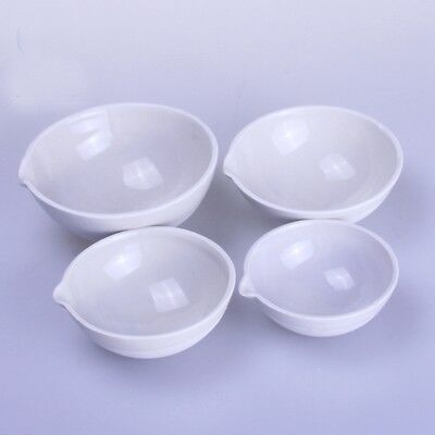 100ml Ceramic Evaporating dish Round bottom with spout For Laboratory 2