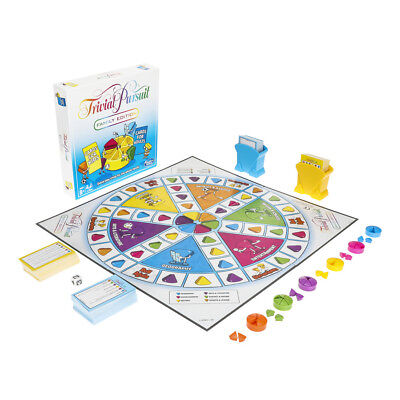 Trivial Pursuit Family Edition Board Game Hasbro 4