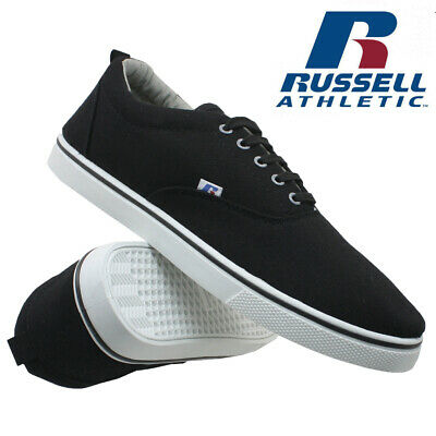Mens Russell Athletic Trainers Casual Canvas Skates Pumps Shoes Plimsolls Size 2