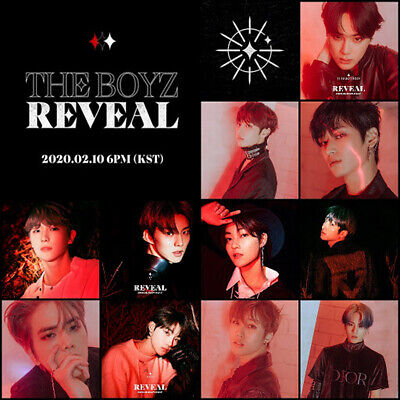 THE BOYZ REVEAL 1st Album CD+POSTER+Photo Book+Post Card+Film+Card+Fortune+GIFT 5
