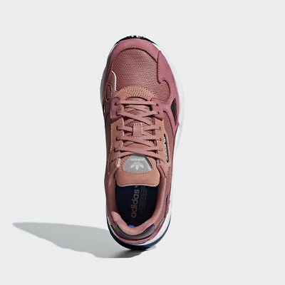 NEW ADIDAS ORIGINAL Womens FALCON RAW PINK DARK BLUE