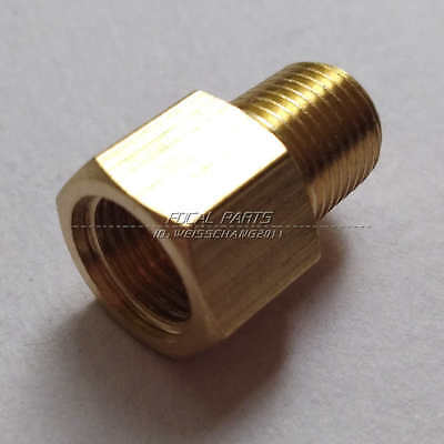"1//8/"" NPT Male to 1//8/"" BSPT BSP Female Gauge Sensor Adapter Reducer M692"