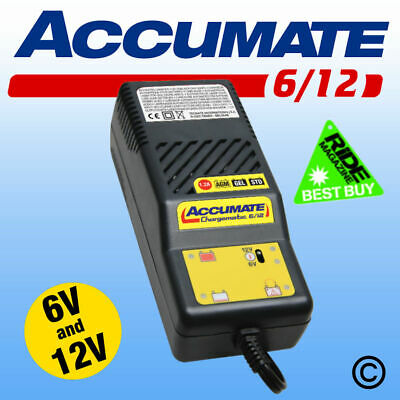 ACCUMATE 6 Volt & 12 Volt Classic Car Automatic Battery Charger, Latest Model 2