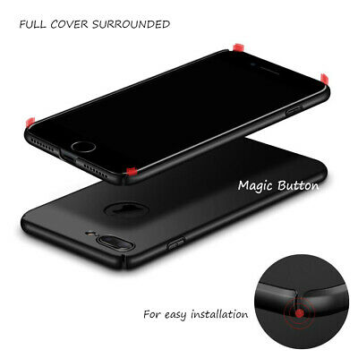 Slim Thin Cover Hard Back Case For Apple iPhone 6 6s Plus 5