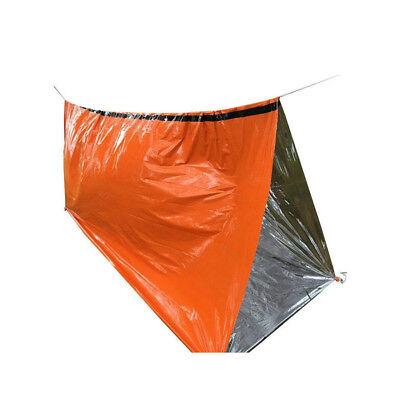 2-Pack Emergency Sleeping Bag Thermal Waterproof Outdoor Survival Camping Bag US 8