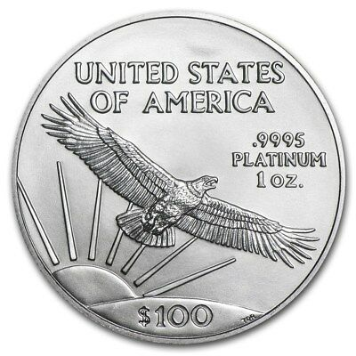 2018 1 oz Platinum American Eagle BU - SKU #168663