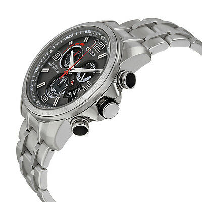 Citizen Eco-Drive Men's A-T Chronograph Alarm Grey Dial 44mm Watch BY0100-51H 4