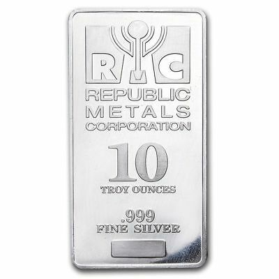 Provident Metals 10 Troy Oz .999 Fine Silver Bar Brand New /& Sealed In Plastic