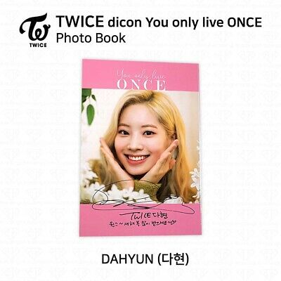 TWICE x dicon You Only Live ONCE Card Photo Book Postcard Dahyun KPOP K-POP 3
