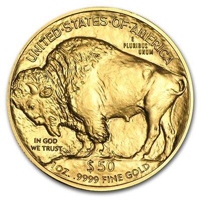 1 oz Gold American Buffalo Coin Random Year BU - SKU #87710 2