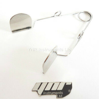 YNR Barraquer wire eye Speculum with Solid Blade Ophthalmic Instrument CE 2