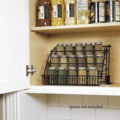 ... NEW Rubbermaid Kitchen In Cabinet Pull Down Spice Rack Storage Organizer  Holder